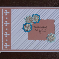 Note Card - Thinking of you  (A6014)