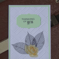 Note Card - Thinking of you  (A6015)