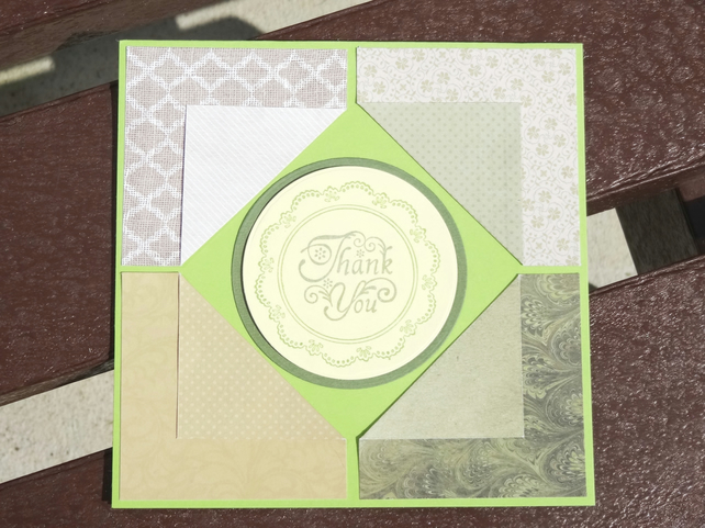 Card - Thank You  (SQ063)