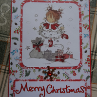Christmas Card - Merry Christmas     (57064)