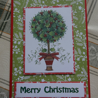 Christmas Card - Merry Christmas   (57070)