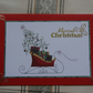 Card - Merry Christmas - Sleigh (57074)
