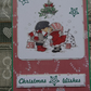 Card - Christmas wishes under the mistletoe  (57068)