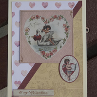 Valentine's Card -  A Token of Love    (A5012)