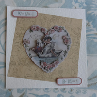 Valentine's Card - A Token of Love   (SQ066)