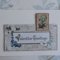 Valentine's Card - Valentine Greetings  (57060)
