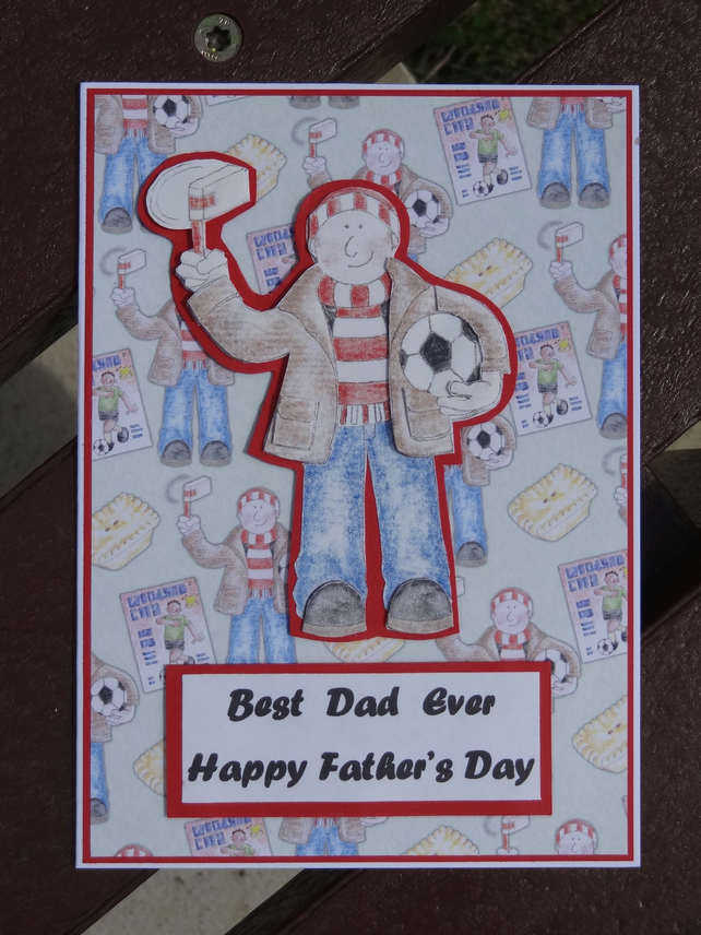Father's Day Card - Best Dad Ever   (57059)
