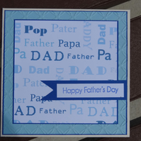 Father's Day Card   (SQ064)