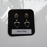 Hearts Desire Stud Earrings - (E020)