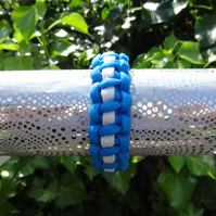 Cobra Stripe Paracord Bracelet - child size  (B051)
