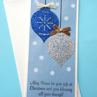 Christmas Card - May Peace be your gift at Christmas.........   (CC135)
