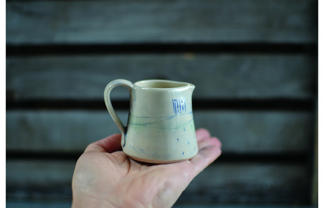 Beachcomber little jug - Hand made ceramics
