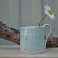Seascape jug - with a beautifully pale green glaze