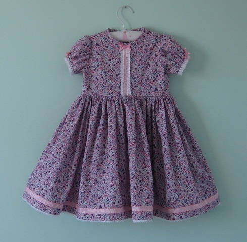 A very special liberty dress for a 3 - 4 year old little girl