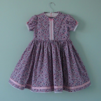 A very special liberty dress for a 3 - 4 year old little girl - special price!