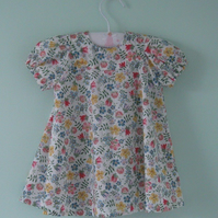 Beautiful liberty lawn dress and pants age approx.  3 to 6 months