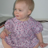 Pretty liberty top to suit a toddler