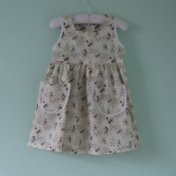Pretty liberty dress for a 3 year old