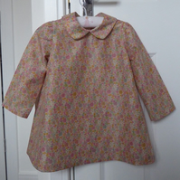 HALF PRICE!! A beautiful liberty dress to suit a 2-3 year old little girl.