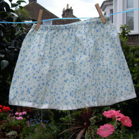 Flower skirt with matching shoulder purse (3 to 4 years)  Special price!