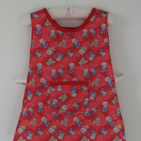 Cute teddy bear tabard for a toddler
