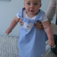 Cute baby pinafore dress age 6 months