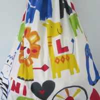 Giant colourful storage bag