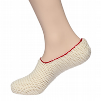 Handmade woolen socks (women) 100 % pure KC Hand Knitted Women`s Socks