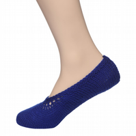 Handmade woolen socks (women)100 %  pure KC Hand Knitted Woolen Socks