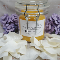 Tree Bee Apothecary Beeswax Candle Rose & Jasmine