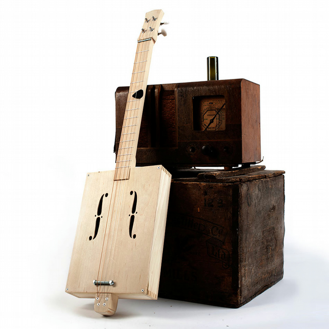 Build Your Own Cigar Box Guitar Kit