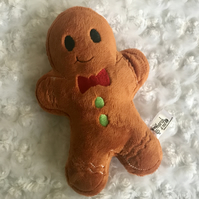 Gingerbread Boy Stuffie, Gingerbread man, Christmas Cookie Soft Toy
