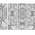 Bookmark to colour In.  This is a digital downloadable product.