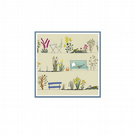 Country Garden - pack of 5 greetings cards (blank for your own message)
