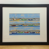 The Harbour - Framed print
