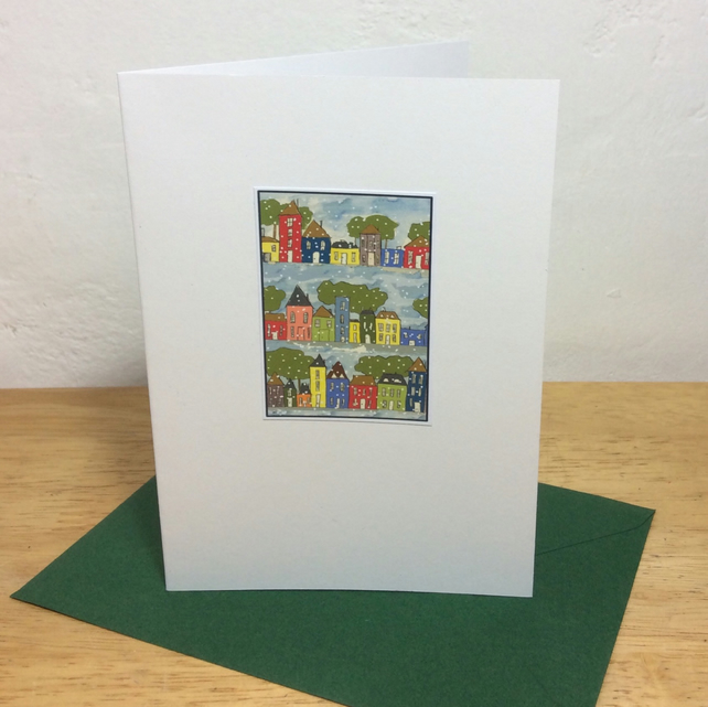 Snowy Streets - pack of 5 cards