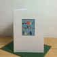 Winter Garden - bilingual English-Welsh Christmas cards