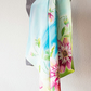 Silk Scarf in Summer colors