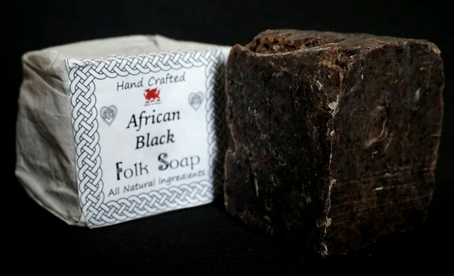 African Black Soap (Vegan)