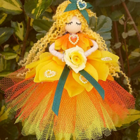 Sunshine the Yellow Rose Fairy. Waiting to fly to your home