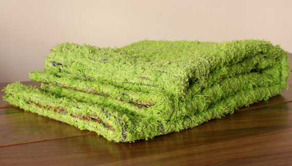 Green Rugs. Kid rugs, Modern rug. Washable Area rug, 120x160cm