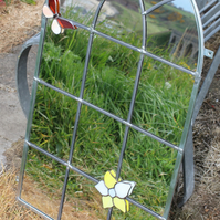 Bespoke Handmade Decorative Garden Mirror