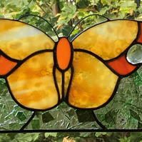 Sparkling Butterfly Window Panel Suncatcher