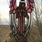 Beautiful Stained Glass Angel