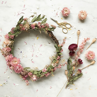 Beautiful Dried Flower Wreath