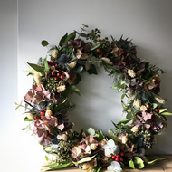Stunning Handmade Nature Inspired Christmas Wreaths