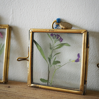 Bespoke miniature floral art - wildflower