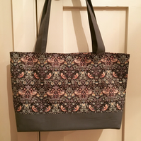 Tote Bag in a William Morris fabric