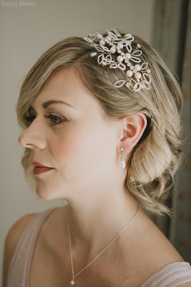 O008 Crystal headband, lovely bohemian tiara