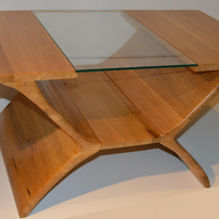 Belvoir, oak coffee table, modern coffee table, original design, french polished